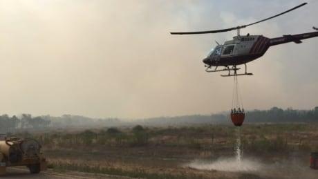 Wildfire moves closer to home, sheep farm near Ashern, Man.