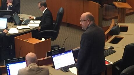 Coun. Russ Wyatt returns to city hall following addictions treatment