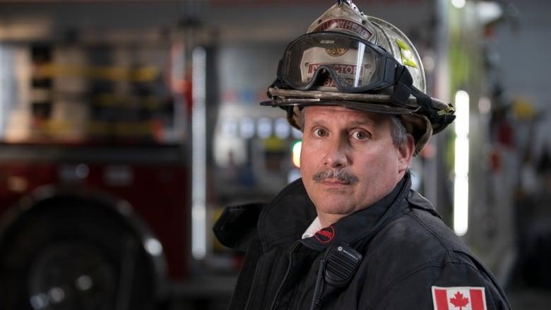 Chief Albert Bahri of the Yellowhead County Fire ...