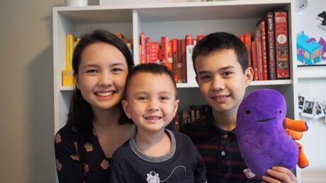Ella Chan and family