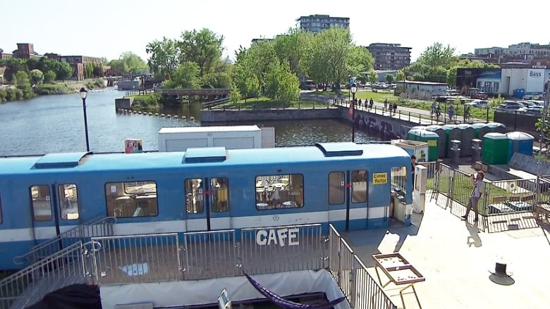 Cultural Complex F Mr Station Opens On Lachine Canal Cbc News