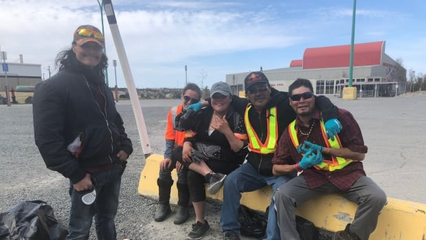 'I Feel Really Happy': Yellowknife's Homeless Take Pride in New Employment Program
