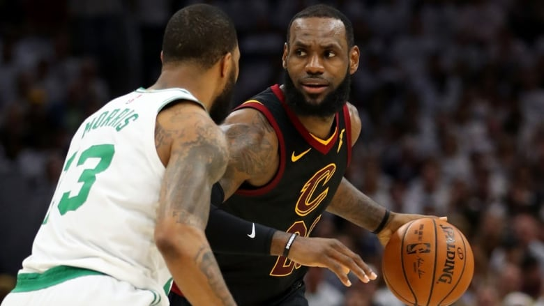 online store 9f7e8 f3b13 Boston bound: LeBron pushes Cavaliers to Game 7 | CBC Sports