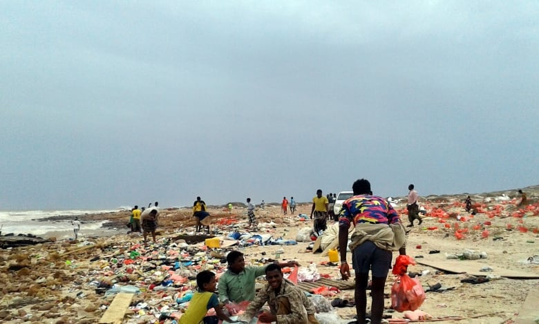 Cyclone tears through Yemeni island Socotra