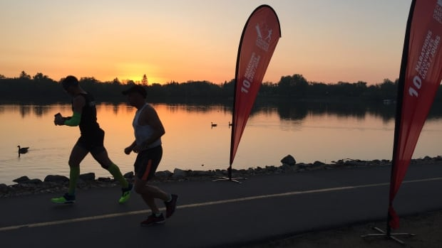 Canadian Completing 10 Marathons in 10 Days Logs Best Time at Wascana Park