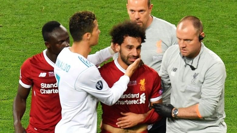 bb705bd28 Egypt s Mo Salah leaves final in tears