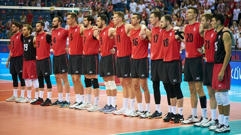 Canada's men's volleyball team earned its first win of the ...