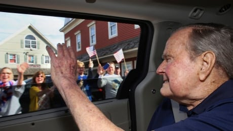 George H.W. Bush taken to hospital in Maine