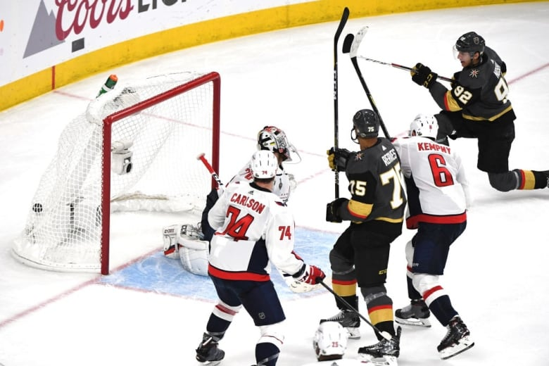 Golden Knights' trusted 4th line ride to rescue in wild Game 1