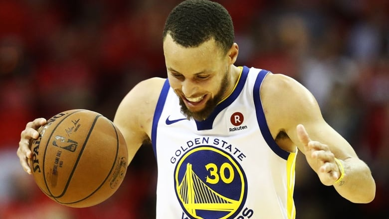 low priced 0410e d5396 Stephen Curry and the Golden State Warriors will face off against the  Toronto Raptors in the NBA Finals on Thursday. (Ronald Martinez Getty  Images)