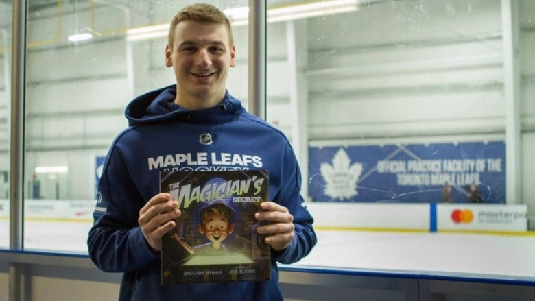 Leafs' Hyman Releases His 3rd Children's Book