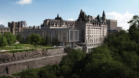 Chateau Laurier addition Rendering