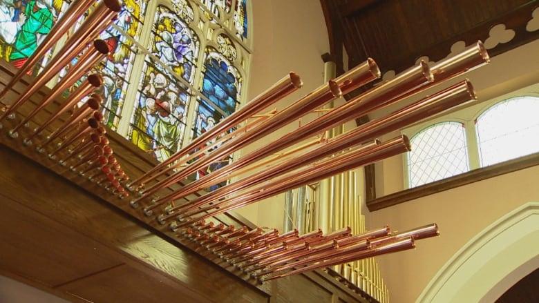 Edmonton church installs unique antiphonal organ, the only