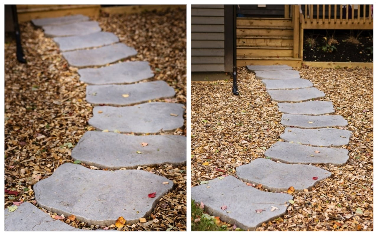 Walkway ideas from D I Y  to top-of-the-line | CBC News