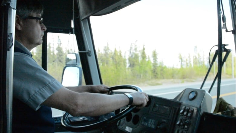 Last Greyhound bus rolls out of Whitehorse   CBC News