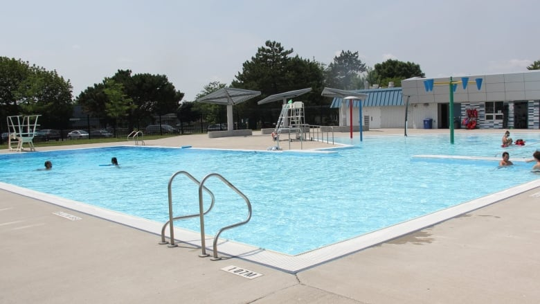 Four city of london outdoor pools opening this weekend cbc news for Swimming pools in london ontario