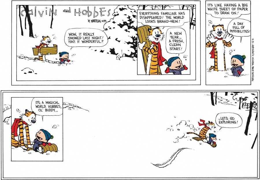 Let's go exploring': The story of Calvin and Hobbes creator