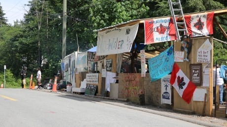 Burnaby orders eviction of Trans Mountain pipeline protest camp