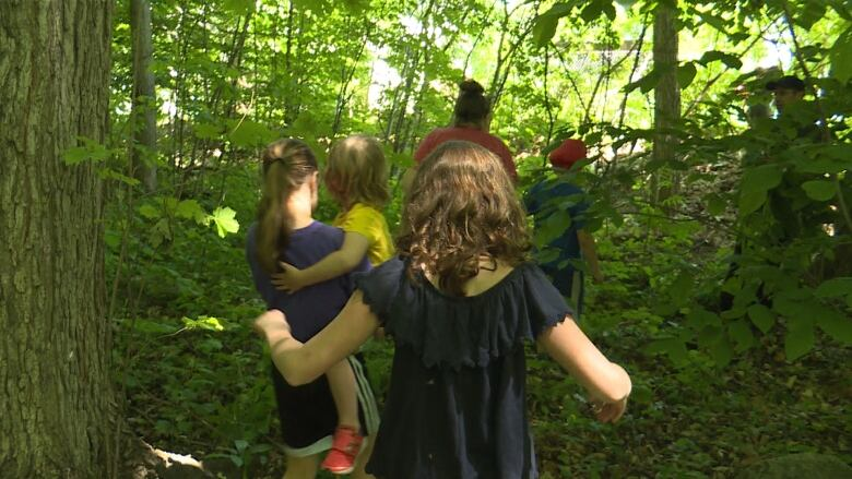 l Île perrot neighbourhood rallies to save forest slated for private