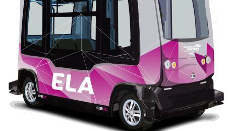 ELA autonomous shuttle