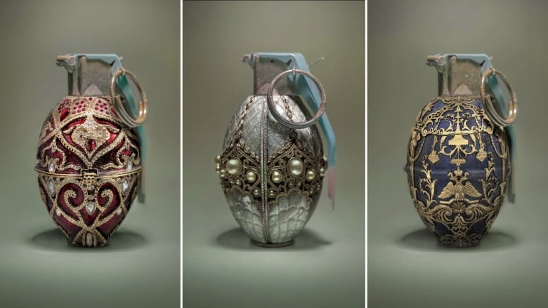 Eggs Bring Life Grenades Bring Death These Faberg Grenades Reveal