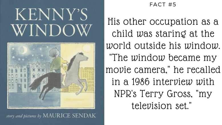 90 facts about the wild world of Maurice Sendak | CBC Books