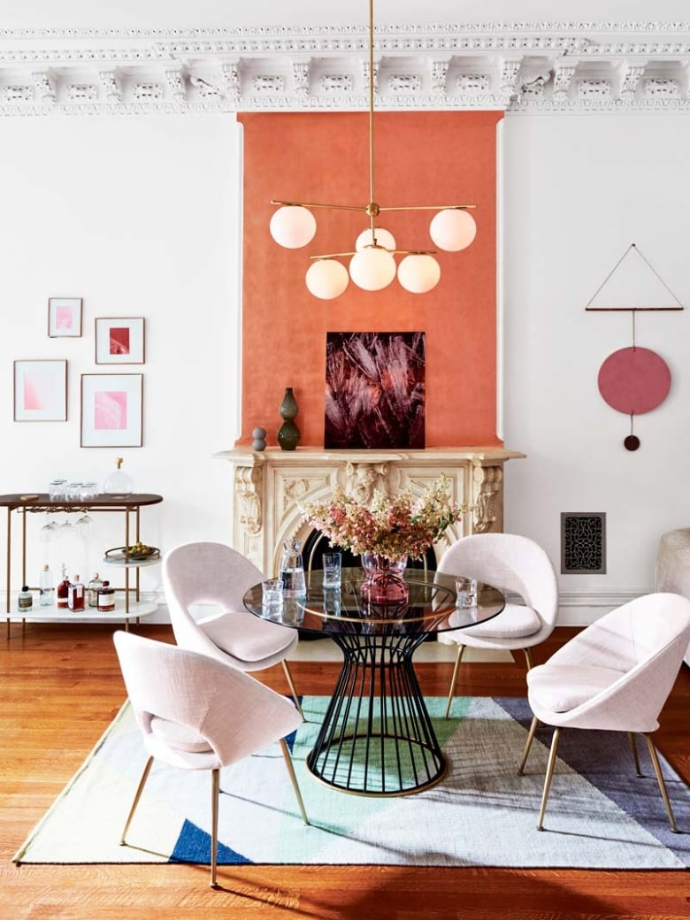 The Colour Story Of The Season Apricot Is Having A Huge Decor Moment Right Now Cbc Life