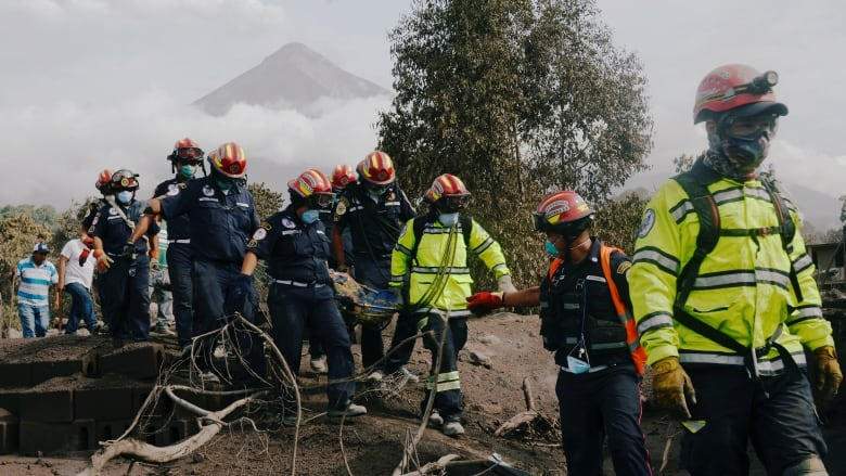 Guatemalan children burned by volcano arrive in Galveston for treatment