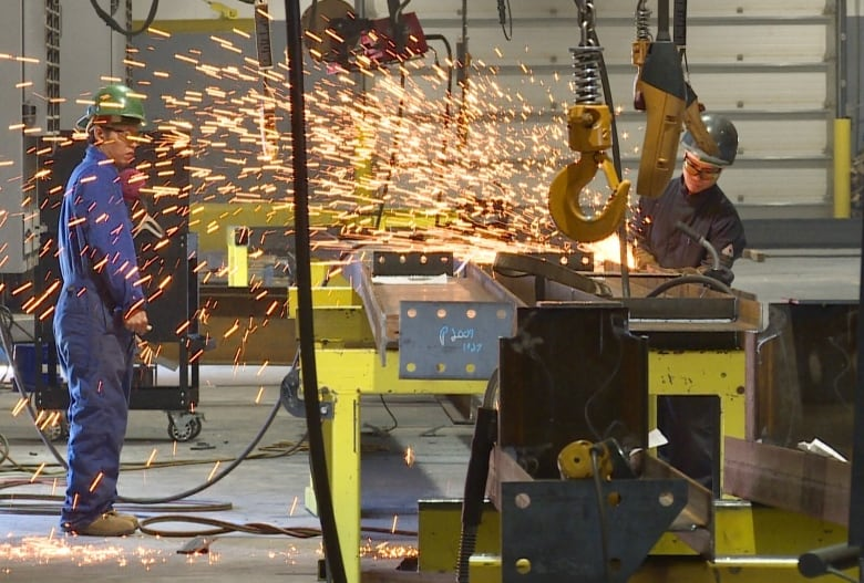 P E I  manufacturing company watching steel standoff closely | CBC News