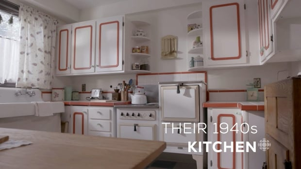 how a modern day canadian familys real house was transformed into a wartime home cbc life - 1940s Kitchen