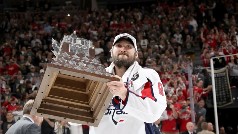 Washington s Alex Ovechkin was awarded the Conn Smythe Trophy as playoff  MVP. (Bruce Bennett Getty Images) 3dc2b4844d86