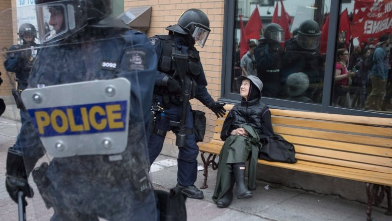 What to you need to know if youre in quebec city during the g7 locals in quebec city will be exposed to a heavy police presence during the g7 summit chris youngcanadian press solutioingenieria Image collections