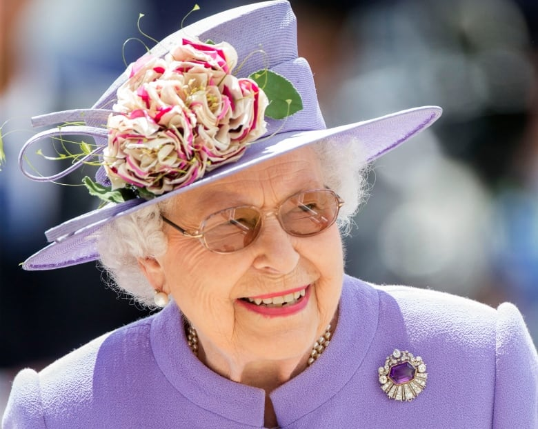 Queen Elizabeth arrives at Epsom Downs racecourse in Surrey on June 2 for the 2018 Epsom Derby Day