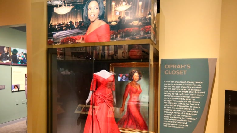 Smithsonian exhibit highlights the life and times of Oprah