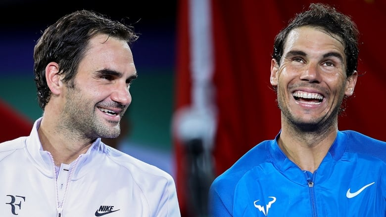 Nadal Federer Keep Winning Grand Slams While Fighting Against Father Time Cbc Sports
