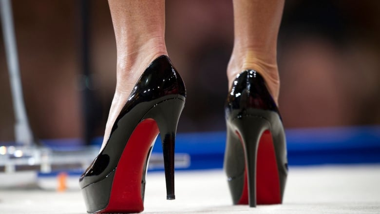 f721aaeadd0 Designer Louboutin wins case on red soled high-heels | CBC News