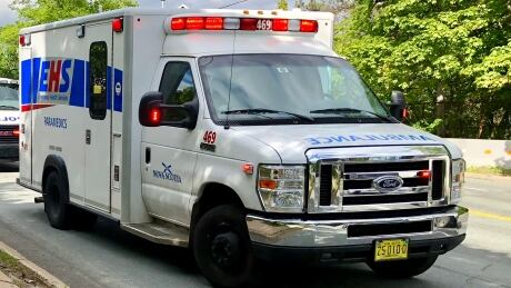 Nova Scotia EHS ambulance