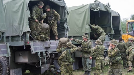 5th Canadian Division Support Base Gagetown during exercise