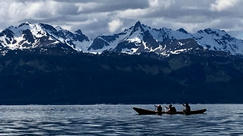Champagne And Aishihik First Nations Members Paddled A Traditional Dugout Canoe From Haines Alaska To Juneau Earlier This Month Richard Smith