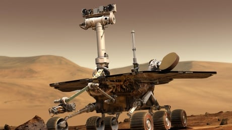 mars rover hunkers down in midst of giant dust storm