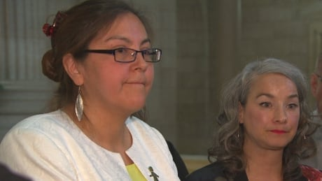 Judy Klassen and Nahanni Fontaine