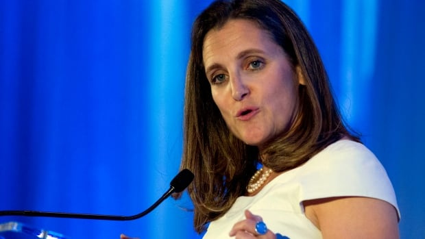 'Facts matter. Truth matters': Freeland says rules-based international order must be defended | CBC News