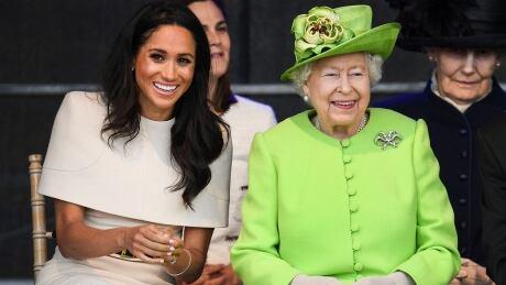 Meghan Duchess of Sussex Queen Elizabeth