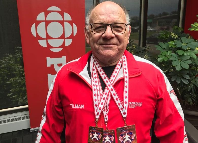 70-year-old Summerside weightlifter breaks world record