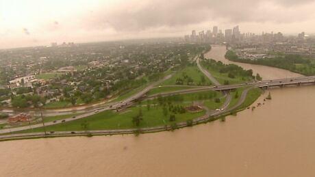 Bow River Calgary Flood