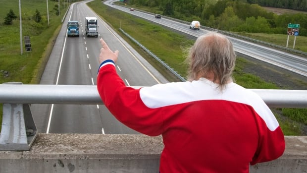 Freddie Wilson isn't dead — and he's still waving from his overpass | CBC News