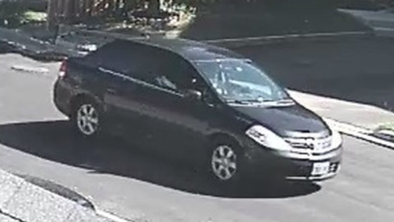 Police Said They Were Searching For This Nissan Versa Sedan. (Toronto  Police Service)
