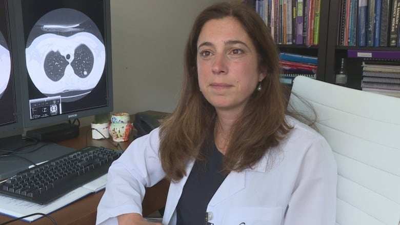Doctor S Diagnosis Leads Her To Push Harder For Early Lung Cancer Screening Cbc News