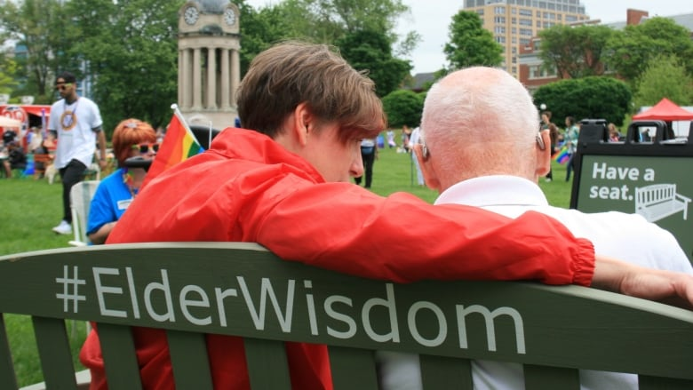 How A Little Elderwisdom And A Green Bench Will Tackle Ageism In
