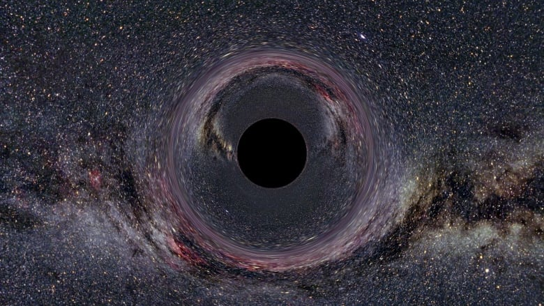 Hawking plea 'to save planet beamed to black hole